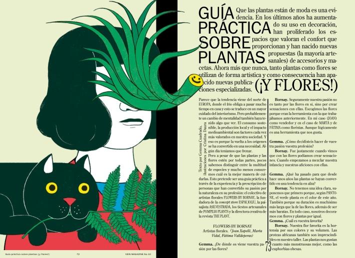 VEIN 10 - Reportaje plantas - Gemma Cuadrado